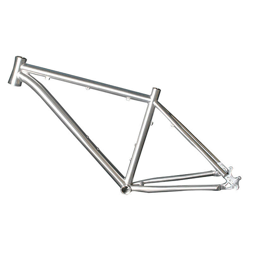 Gr9 titanium road/mountain bike frame