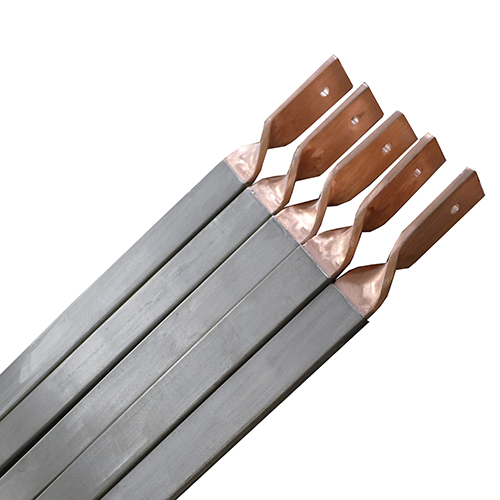 titanium clad copper for electroplating